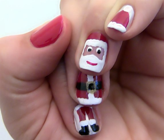 51 christmas nail art ideas you must try christmas nail ideas solutioingenieria Gallery
