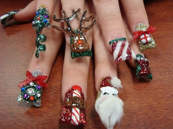 Cool Christmas Nail Ideas