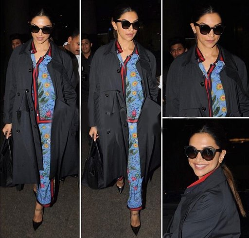 Deepika trawel fashion