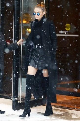 Gigi Hadids Best Street Style