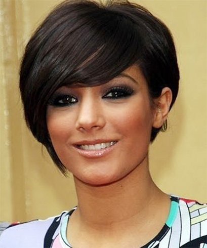 10 Sexy Short Hairstyles For Round Faces