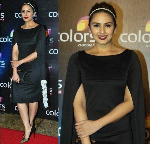Huma Qureshi At Colors TV Annual Party 2016