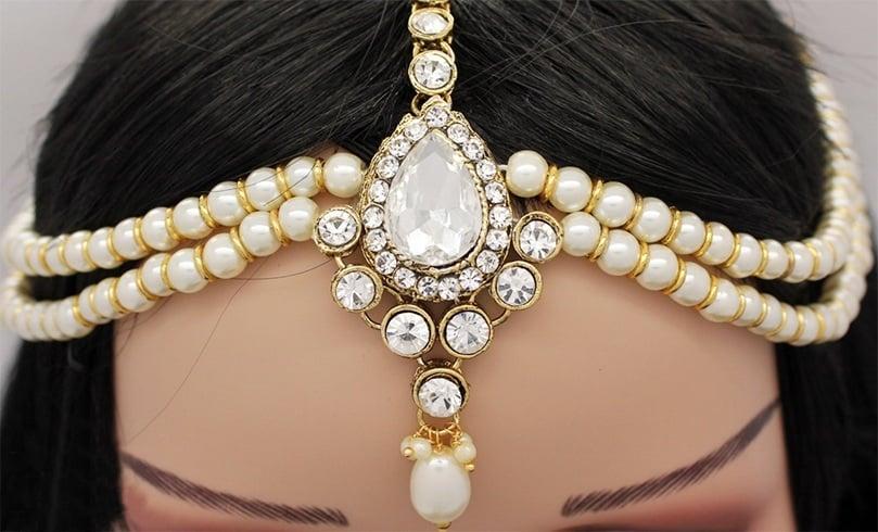 Indian Wedding Hair Accessories