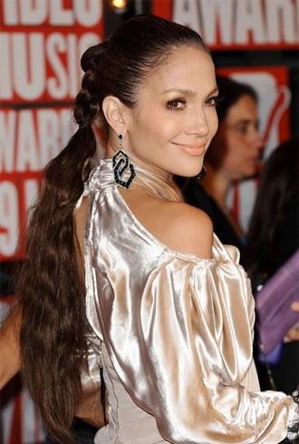 Jennifer LopezLong Braided Ponytail