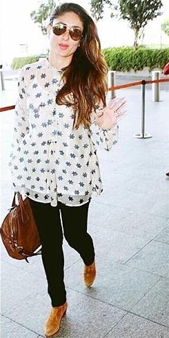 Kareena Kapoor Airport Style
