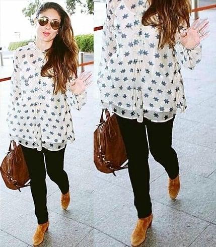 Kareena Kapoor Airport Styles