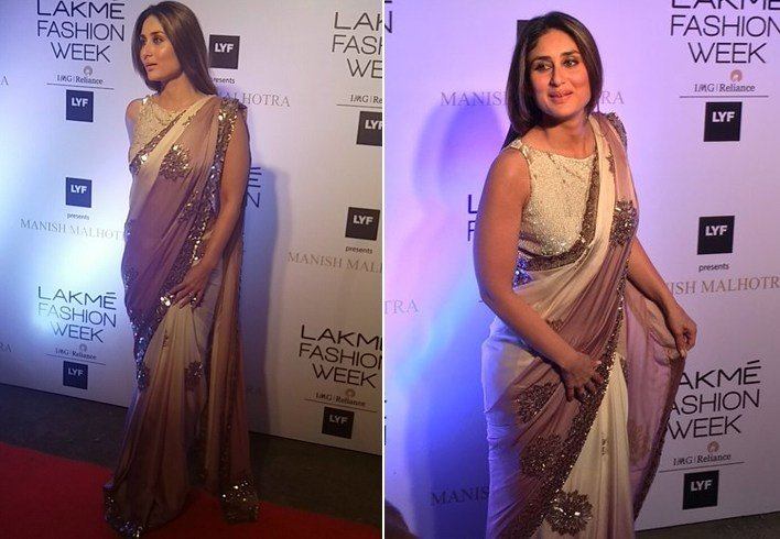 Kareena Kapoor at Lakme Fashion Week 2016