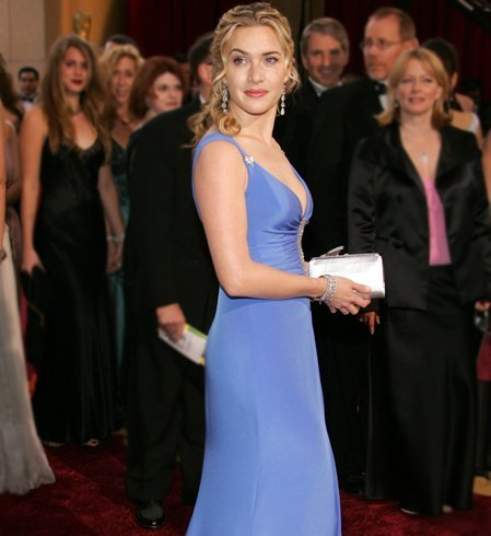 Kate Winslet Hairstyle On Oscars 2005