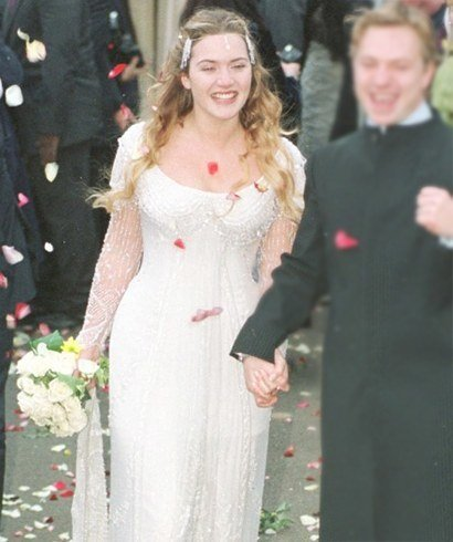 Kate Winslet Hairstyles On 1998 Wedding