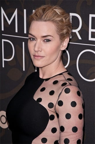 Kate Winslet Hairstyles On Mildred Pierce premiere in March 2011