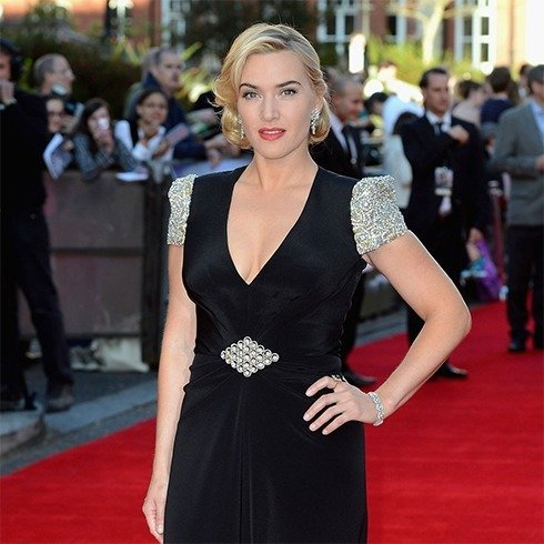 Kate Winslet Hairstyles On Premiere of Titanic 3D 2012