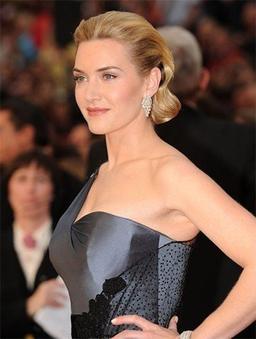 Kate Winslet Retro Hairstyle On Oscars 2009