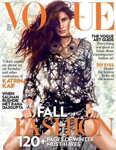 Katrina Kaif India Magazine