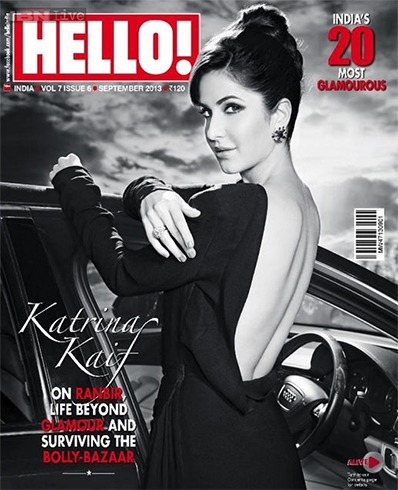 Katrina Kaif On The Hellow Magazine Cover Page