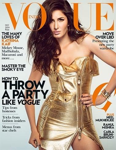 Katrina Kaif magazine Photoshoot On Vogue