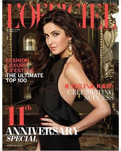 Katrina KaifOn The Magazine Cover Page