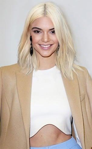 Kendall Jenner Blonde Hair
