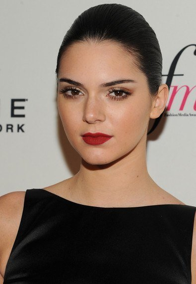 Kendall Jenner Bun Hairstyle