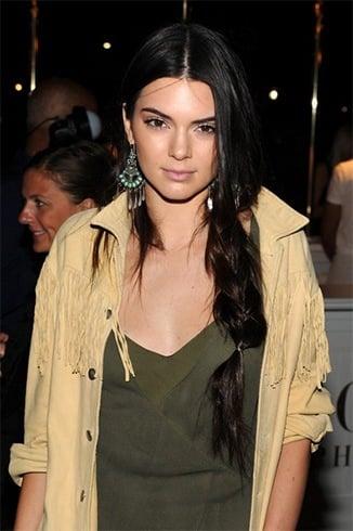 Kendall Jenners Braid Hair