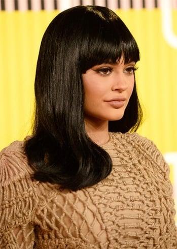 Kylie Jenner Long Wavy Cut