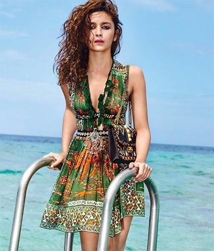 Alia Bhatt in Maison Valentino Dress