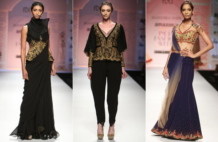 Mandira Wirks Show at AIFW Autumn Winter 2016