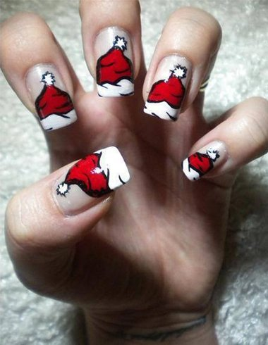 Nail Art For Christmas