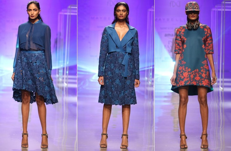 Namrata Joshipuras Show at AIFW Autumn Winter 2016