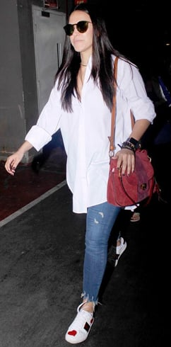 Neha Dhupia travel fashion