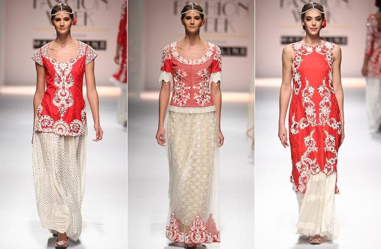 Niki Mahajan AIFW autumn winter 2016 Collections