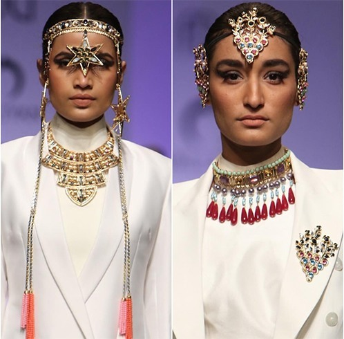 Nitya Portrays Accessory Collections
