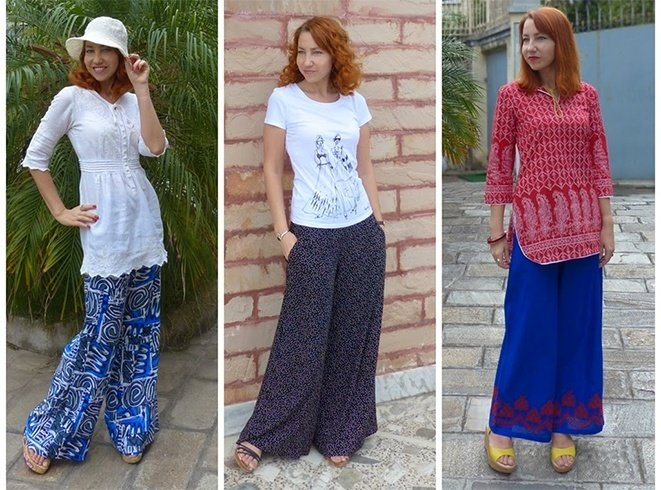 Palazzo Pant Outfit Ideas