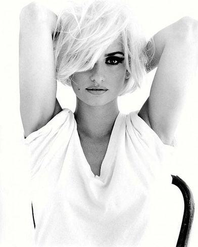 Penelope Cruz Short Punk Inspired Hairstyle