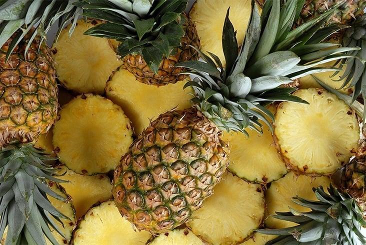 Pineapple For Glowing Skin