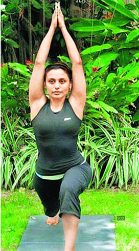 Rani Mukherji Yoga Workouts