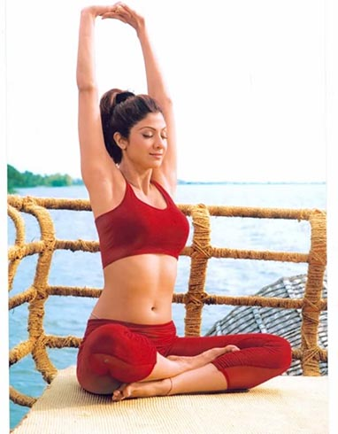 Shilpa Shetty Yoga Workouts
