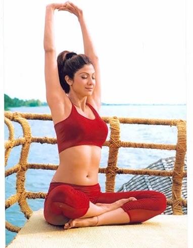 Shilpa Shetty Yoga Workouts