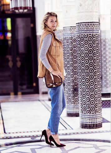 Shoes to wear with boyfriend jeans For Women