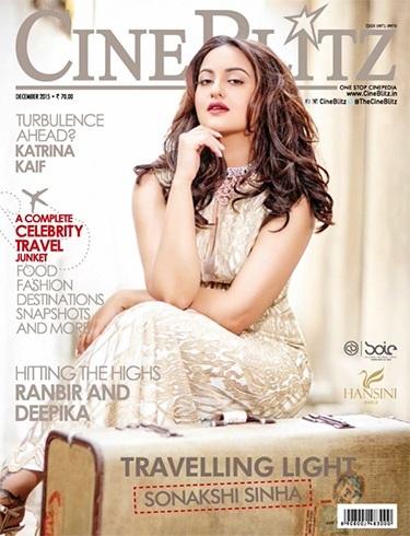 Sonakshi Sinha Cine Blitz Magazine Cover