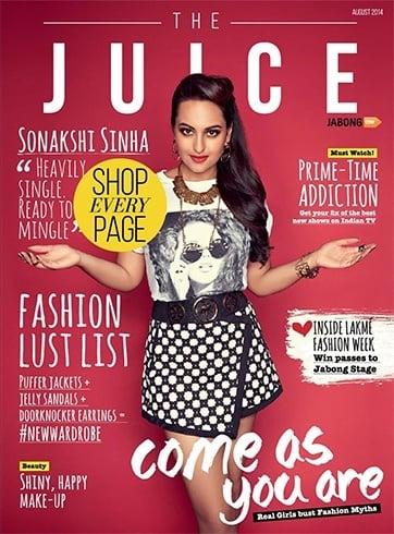 Sonakshi Sinha Juice Magazine Photoshoot