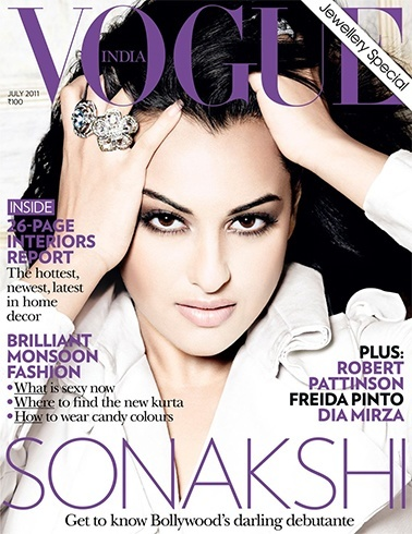 Sonakshi Sinha Magazine Cover Photos