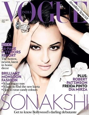Sonakshi Sinha Magazine Cover Photos