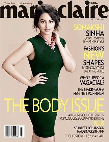 Sonakshi Sinha Marie Claire Magazine Photoshoot