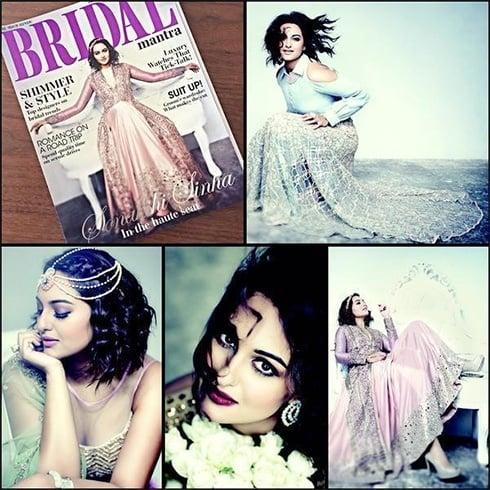 Sonakshi SinhaMagazine Cover Page