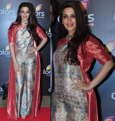 Sonali Bendre At Colors TV Annual Party 2016