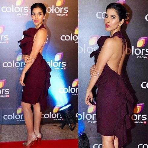 Sophie Choudry At Colors TV Annual Party 2016
