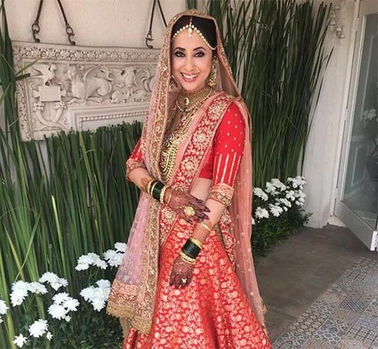 Urmila Matondkar Wedding Look