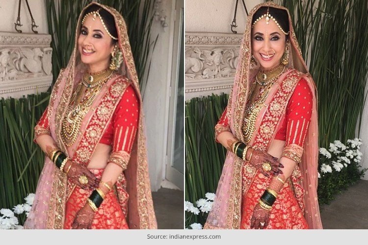 urmila matondkar wedding pictures are out and she looks