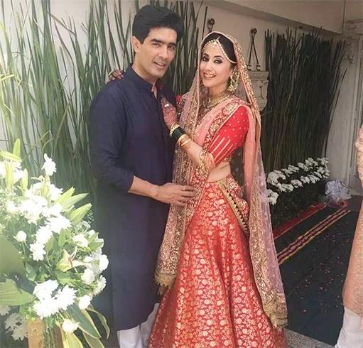 Urmila Matondkar With Manish Malhotra