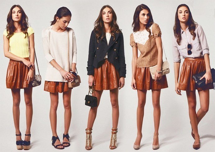 Ways To Wear A Leather Skirt